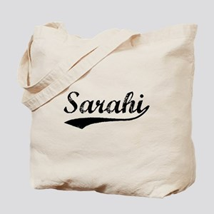 Vintage Sarahi (Black) Tote Bag